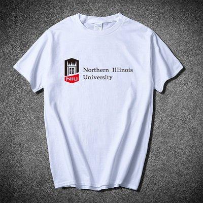 潮流前線~北伊利諾伊大學T恤短袖Northern Illinois University紀念品NIU