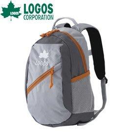 丹大戶外用品 日本【LOGOS】88250132 8L 灰 兒童背包 側背包/斜背包/腰包/休閒包/置物包