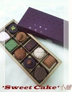 `Sweet Cake``小舖-不織布巧克力系列 [巧克力10顆盒裝] 成品 屏東縣