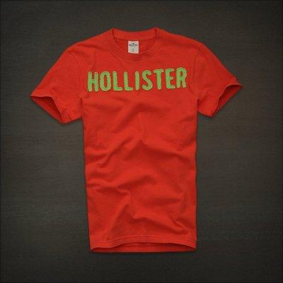 ?? Hollister logo 海鷗 刺繡貼布 T恤 (M) Abercrombie A&F Hco