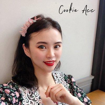 鹿爾飾物cookie韓國清新可愛女生甜美少女細款髮箍頭箍髮卡