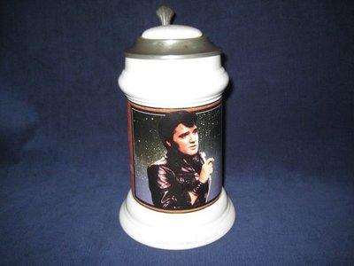 貓王 帶蓋杯 Elvis Presley  1968 COMEBACK SPECIAL  lidded stein.