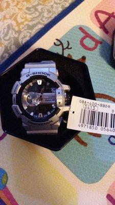 G-Shock GBA-400-8BDR 籃牙手錶(銀色)