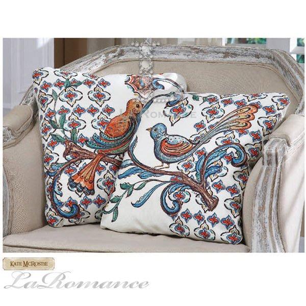 【Creative Home】Bohemian Bazzar 波西米亞系列花鳥抱枕 (共兩款) / 情人節
