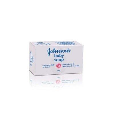 ♡NANA♡美國 JOHNSONS 進口嬰兒潤膚香皂 3入組 質地溫和 嬌生