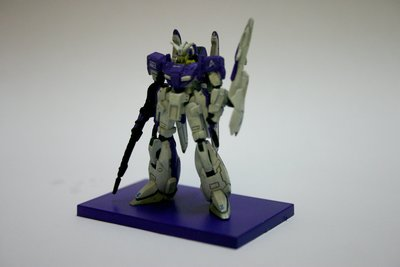 z plus gundam collection 1/400 purple