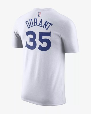 (A.B.E)Kevin Durant Golden State Warriors Nike 耐克 Dri-FIT 870774-103