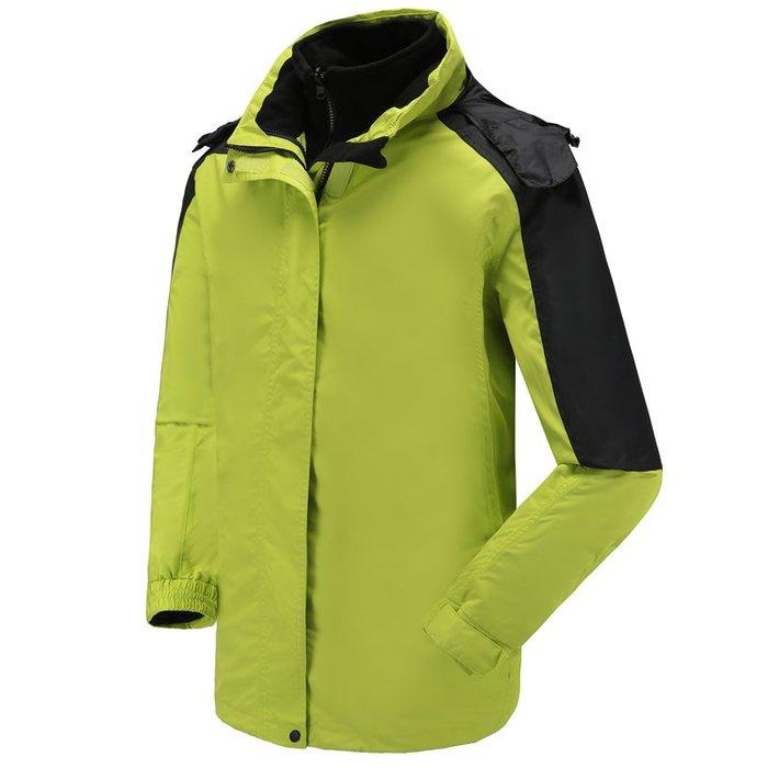 東大門平價鋪  德國外貿 男款防水 防風衝鋒衣, 戶外保暖 超輕外套,可拆卸兩件套
