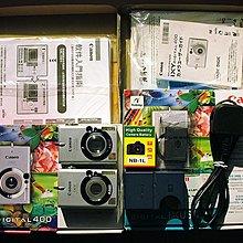 Canon CB-2LS原廠充電器+NB-1L電池+IXY400+IXUS430兩相機