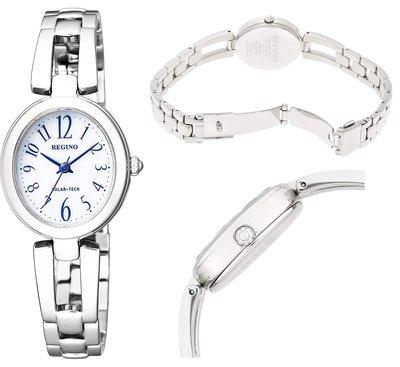 日本正版 CITIZEN 星辰 REGUNO KP1-616-13 女錶 女用 手錶 太陽能充電 日本代購