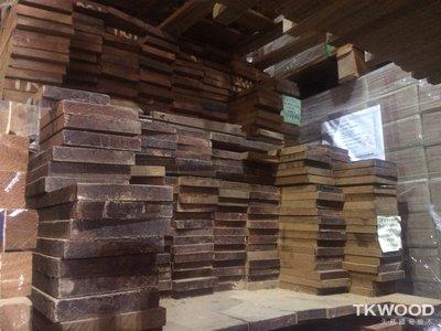 【緬甸柚木毛料-TKWOOD】緬甸柚木毛料✶Teak ✶-18*120mm角料 角材 地板 木條 木材 木工
