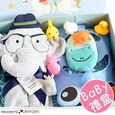 八號倉庫  寶寶滿月週歲禮洗澡遊戲禮盒組 預購【2B001E925】