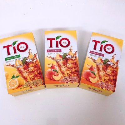 韓國 TIO 檸檬冰茶/水蜜桃/藍莓/青蘋果冰茶粉