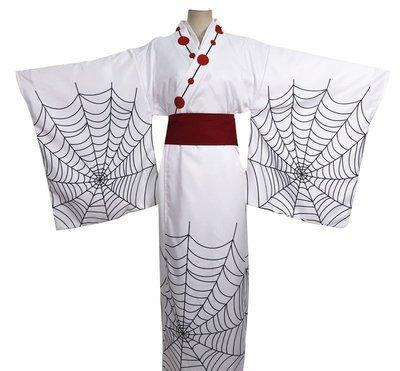 ~鬼滅之刃 其它 服飾 2005 累 十二鬼月 蜘蛛 日式和服 全套男服裝Cosplay