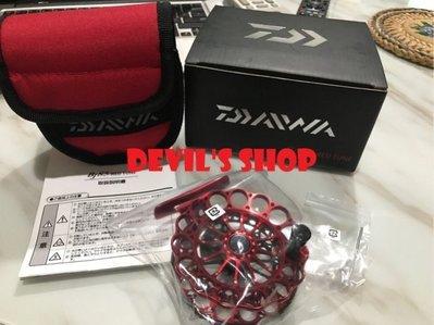 DAIWA BJ 85 red tune 超輕量前打輪 紅色限量版 特價6000