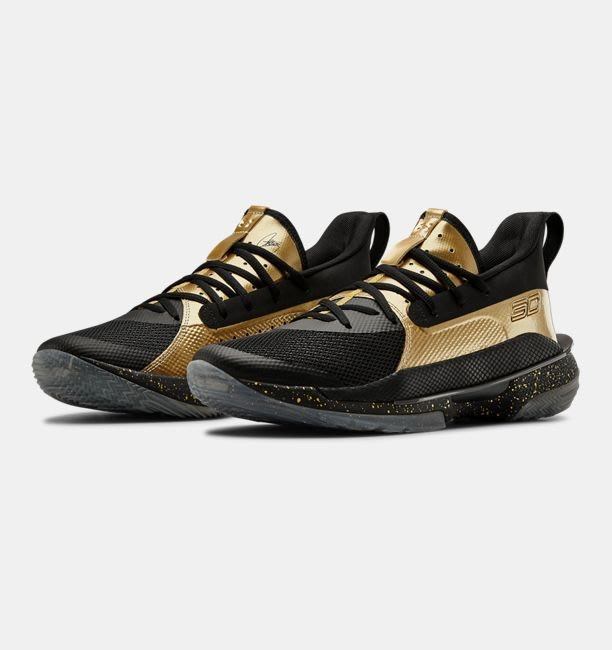 Dr. Amazing Under Armour Curry 7 Earn It 黑金配色 3023300-002