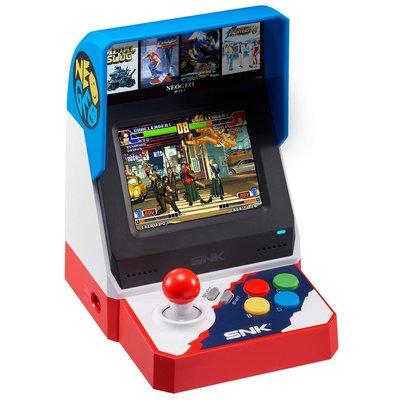 (全新現貨) SNK NeoGeo Mini Neo Geo 高清懷舊遊戲 迷你手提遊戲機  (行貨, 中文/英文/日文)- 正過月光寶盒