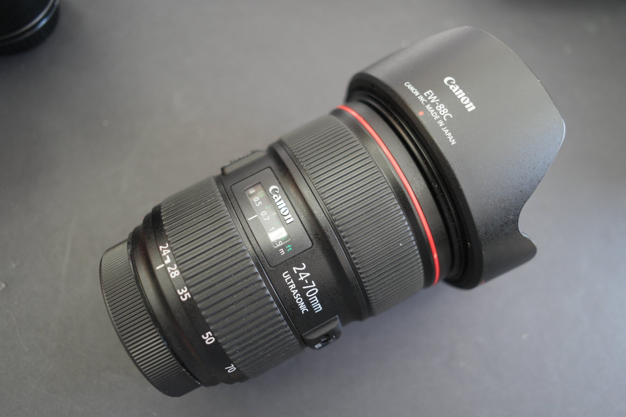 Canon 24-70mm F2.8 L II 平輸貨 盒裝配件齊全
