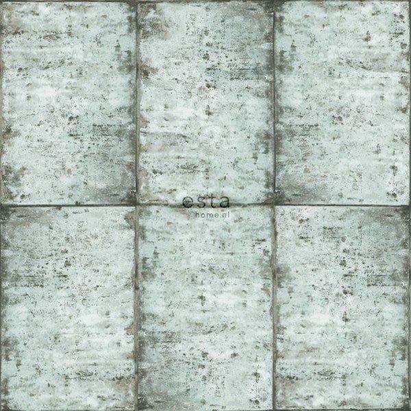 【Uluru】歐洲期貨壁紙.北歐簡約 zinc plates (5色) 鋅板 鐵板 金屬板 拼接 壁紙 HE105系列