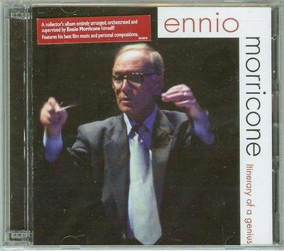 """Itinerary of a Genius-2CDs""- Ennio Morricone(174),全新美版"