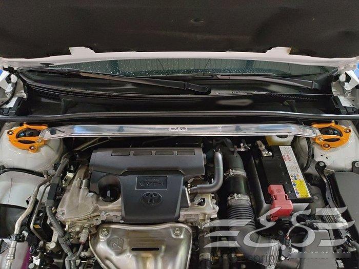 阿宏改裝部品 E.SPRING TOYOTA 2019 CAMRY 8代 鋁合金 引擎室拉桿 3期0利率