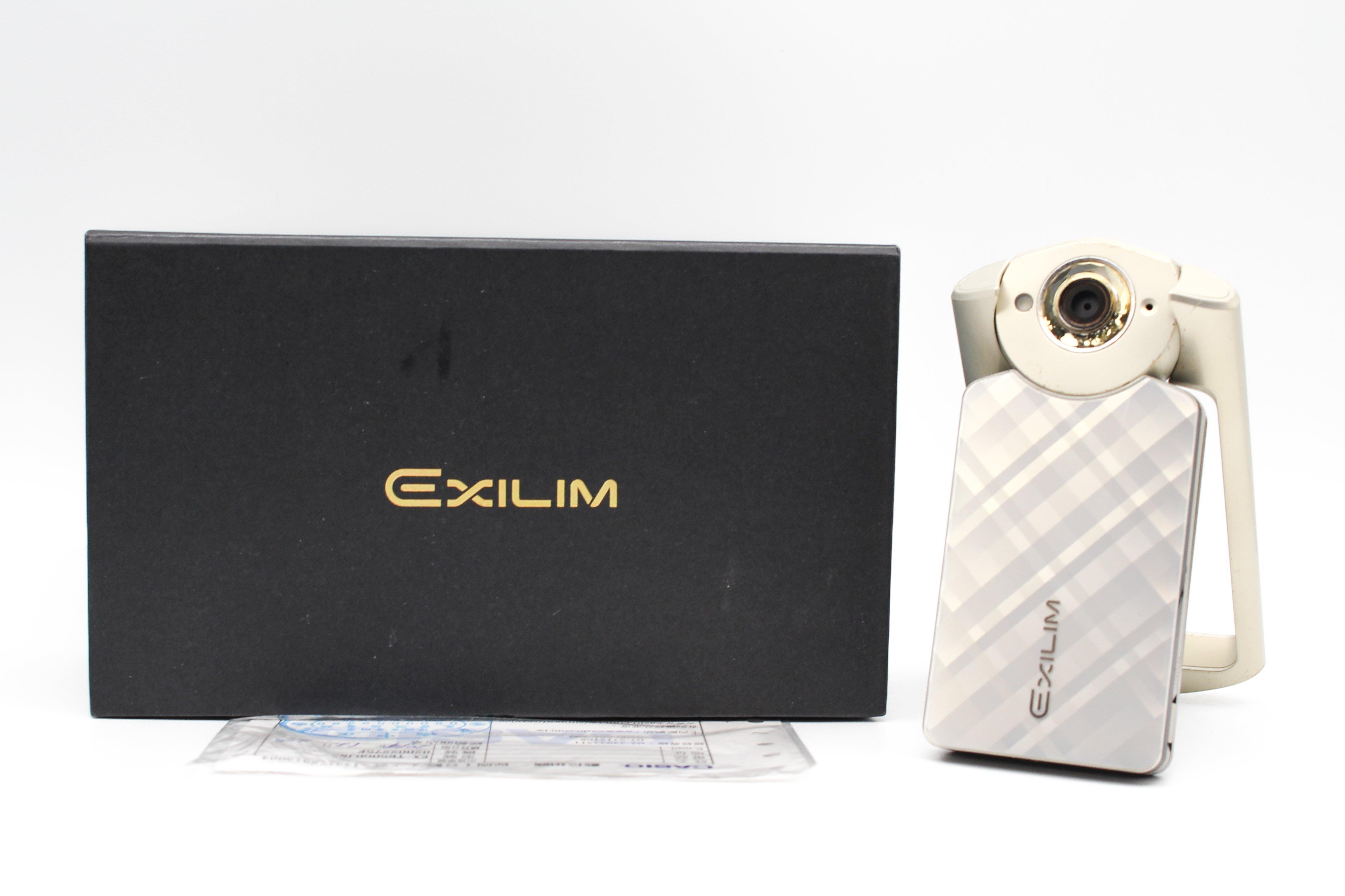 【台南橙市3C】Casio TR50 TR-50 金 自拍神器 美肌相機 二手相機 二手美顏相機 #28265