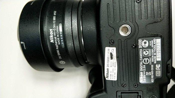 Nikon D5100 單眼數位相機+兩個Nikon AF-S DX鏡頭+兩個外接散光燈+2顆電池