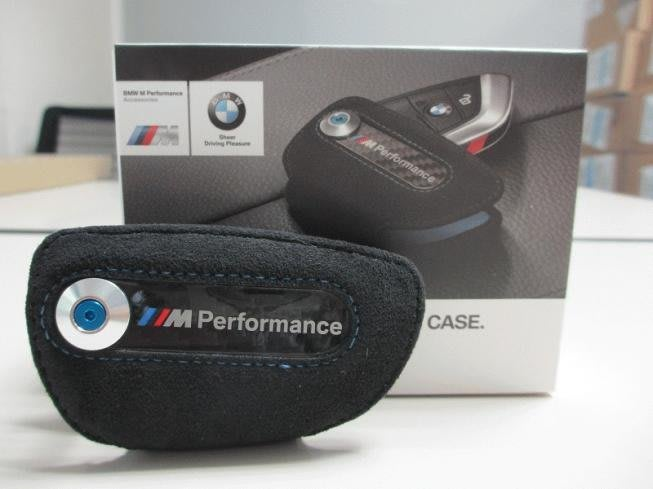 【樂駒】BMW 原廠 M Performance 鑰匙皮套 保護套 F15 F16 F85 F86 F45 F48 精品