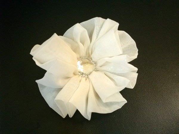 B. & W.world *美美的花飾*R13022*手製浪漫雪紡紗*絲巾、項鍊、髮束、胸花多用途*少女情懷**
