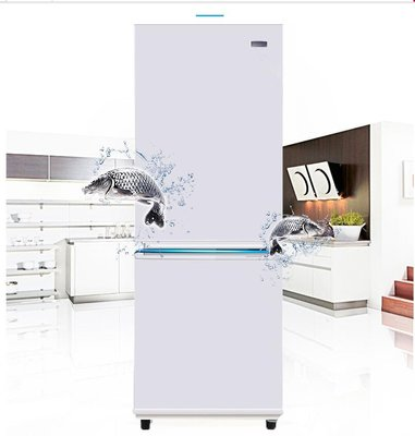 『格倫雅品』Huari/華日電器 BCD-116LFA 電冰箱小型家用雙門式冷藏冷凍雙開門