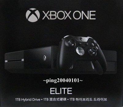 ☆小瓶子玩具坊☆XBOX ONE 1TB主機--菁英無線控制器同捆版 (台灣公司貨)
