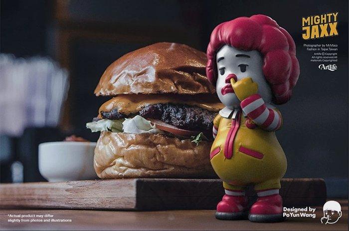 Artlife @ MightyJaxx PICKY EATERS PO YUN WANG 挑食者 小丑 麥當勞叔叔