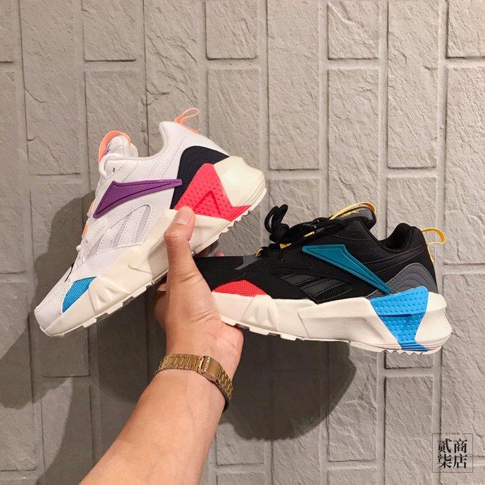 (貳柒商店) Reebok Aztrek Double Mix 女款 老爹鞋 休閒 白 DV8171 黑 DV8172