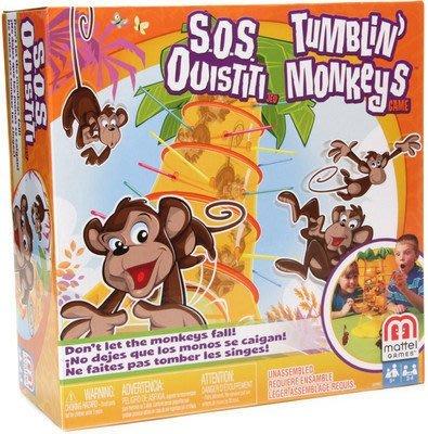 【全新含稅】跳跳猴大挑戰 翻滾猴子 德國桌上遊戲 Board Game 兒童親子經典玩具款