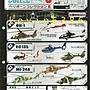 東京都-F-toys 1/144 WORK SHOP Vol.29 直升機收藏6小全10種(9+1隻隱藏)附中盒現貨