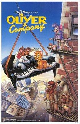 【藍光電影】奧麗華歷險記 Oliver and Company (1988) 迪斯尼經典動畫 46-082
