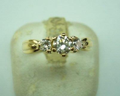 [吉宏精品交流中心]33分南非天然鑽石 造型戒指