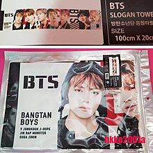 BTS [ 應援毛巾 ] 現貨在台 手幅 Slogan Towel  防彈少年團