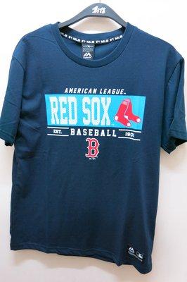 免運優惠.嘉義水上全宏 創信 MLB 2020 美國大聯盟 波士頓紅襪圖案純棉T恤.
