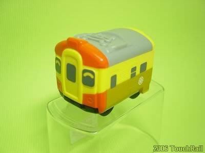【喵喵模型坊】TOUCH RAIL 鐵支路 Q版 迴力車 台鐵EMU自強號 (QV002)