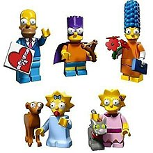 lego 阿森一族 simpsons series 2 minifigure 一家5口 5款