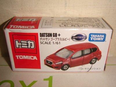 1風火輪美捷輪NISSAN汽車TOMICA多美1:64合金車AS特別版DATSUN GO +達特桑轎車紅一百一十一元起標