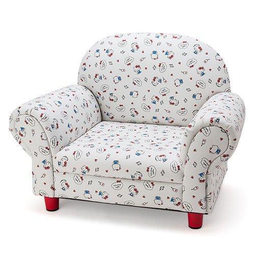 41+現貨免運費 Sanrio HELLO KITTY滿版圖案 可愛 單人 低底座 沙發  小日尼三 現貨免運費