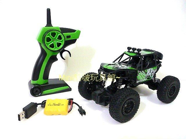 1/22 1:22 2.4G遙控升級版 遙控攀爬車-越野車-遙控車-沙灘車-充電版-綠