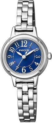 日本正版 CITIZEN 星辰 wicca KP3-619-71 手錶 女錶 太陽能充電 日本代購