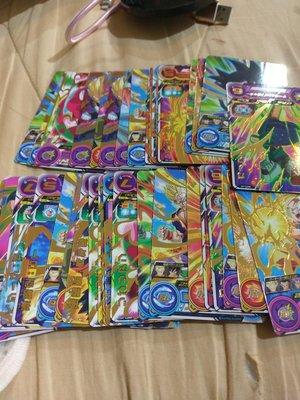 台版 全新正品 七龍珠英雄卡 一星卡 普通卡 片,每張4元,隨機出卡,不挑,盡量不重複。台灣機台投下。十分好用的卡片。