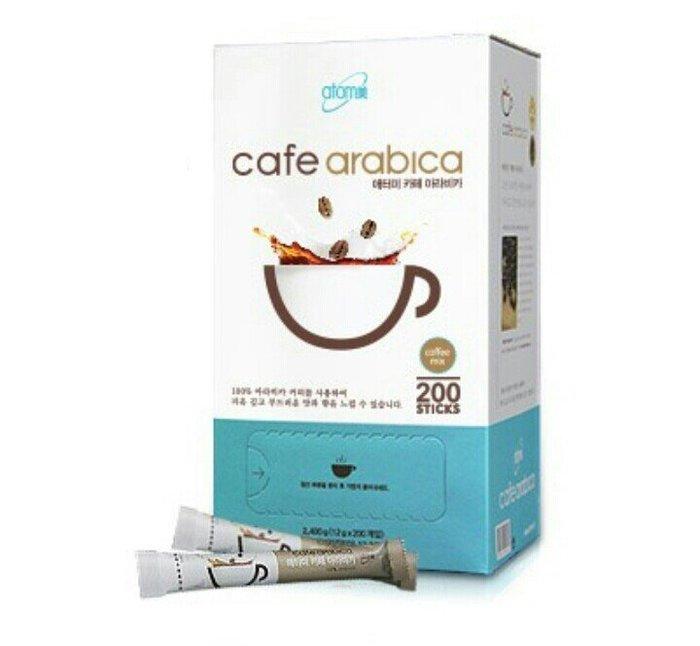 韓國進口  艾多美 阿拉比卡三合一即溶咖啡/一盒200包 送禮 分享喜悅 現貨