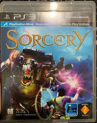 幸運小兔 PS3遊戲 PS3 魔法奇境大冒險 Sorcery 中文版 Move 體感遊戲 PlayStation3