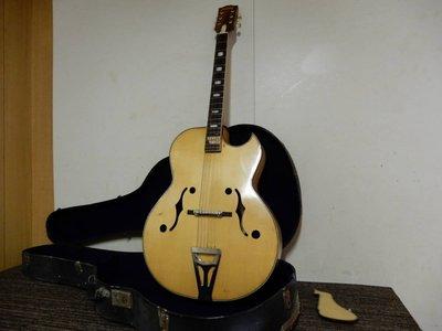 【日本代標 樂器.器材】Nardan No.100 アーチトップギター ナルダン ピックギター ビンテージ