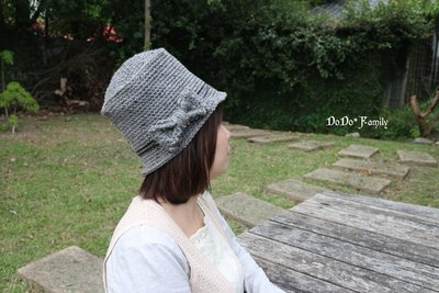 DODO*FAMILY嘟嘟家族手藝坊.鉤針毛線帽子材料包.韓系保暖編織帽.WG16-3411【NAP那普】